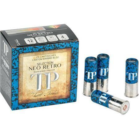 Cartouche De Chasse Tunet Tp Neo Retro Bleu - 30G - Calibre 12