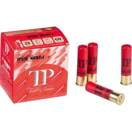 CARTOUCHE DE CHASSE TUNET TP SPEED NICKELE - 21G - CALIBRE 28