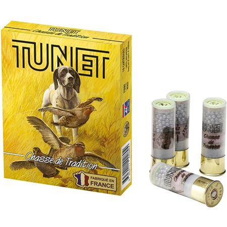 Cartouche De Chasse Tunet Tradition - 32G - Calibre 12