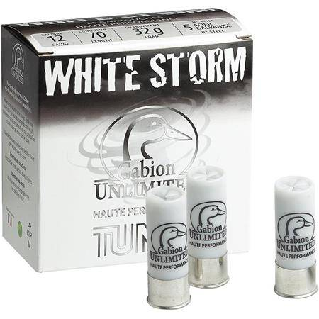 Cartouche De Chasse Tunet White Storm Hp Acier Galvanise - 32G - Calibre 12