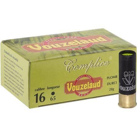 Cartouche De Chasse Vouzelaud Complice 65 - 28G - Calibre 16