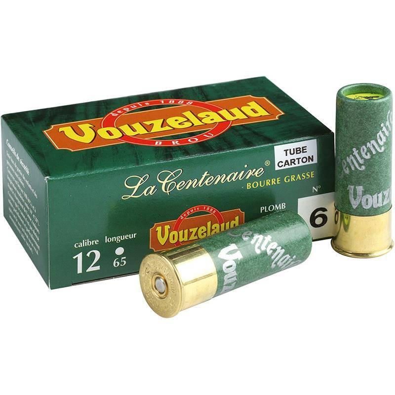 Cartouche De Chasse Vouzelaud La Centenaire Carton - 32G - Calibre 12