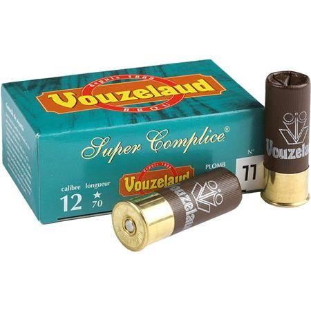 Cartouche De Chasse Vouzelaud Super Complice 70 - 35.5G - Calibre 12