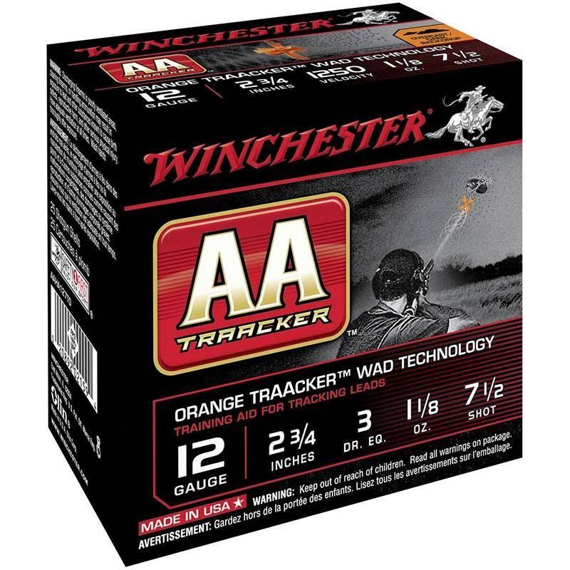 Cartouche De Chasse Winchester Aa Traacker Heavy Black - 32G - Calibre 12
