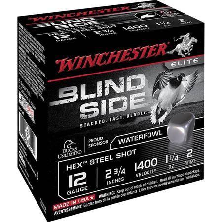 Cartouche De Chasse Winchester Blind Side - 46G - Calibre 12/89