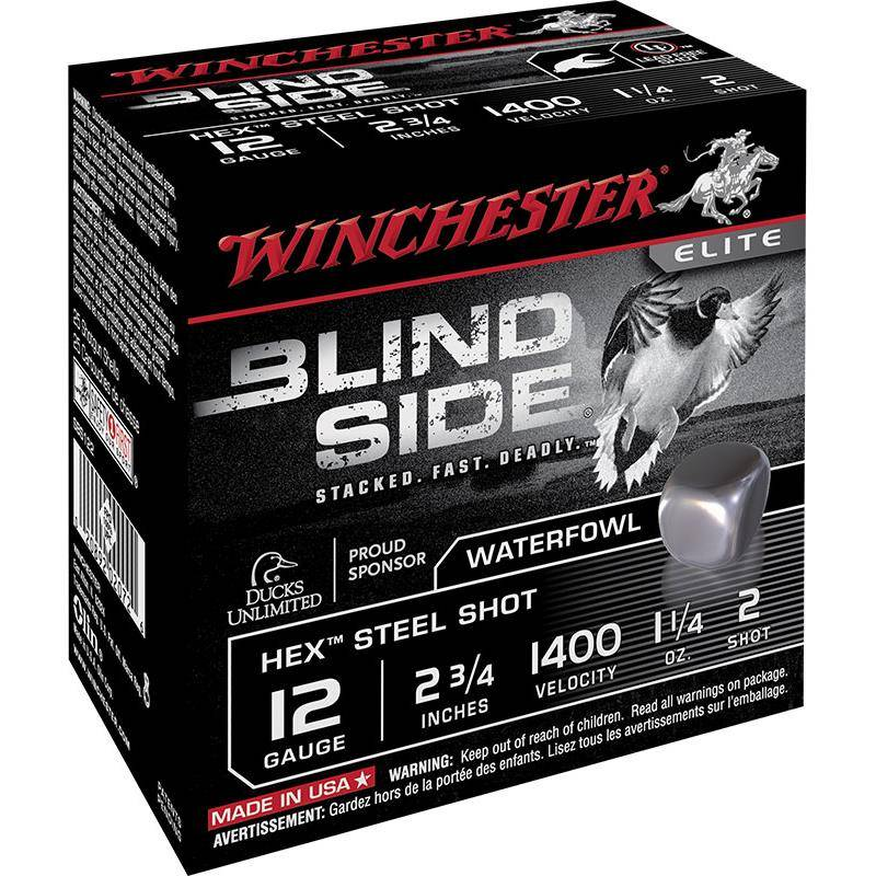Cartouche De Chasse Winchester Blind Side - 46G - Calibre 12/89