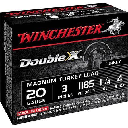 Cartouche De Chasse Winchester Double X - 35G - Calibre 20/76