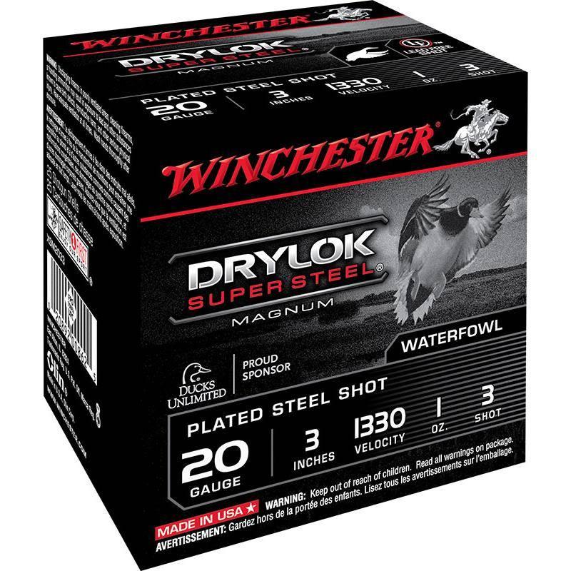 Cartouche De Chasse Winchester Drylok - 28G - Calibre 20/76