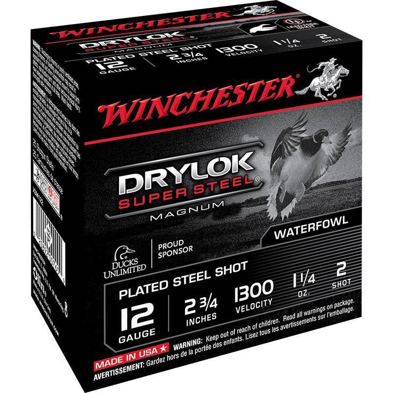 Cartouche De Chasse Winchester Drylok - 35G - Calibre 12/76