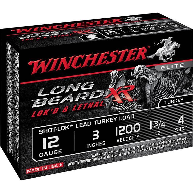 Cartouche De Chasse Winchester Long Beard Xr - 49G - Calibre 12/76