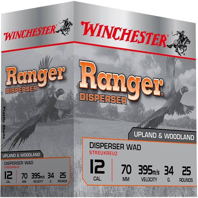 CARTOUCHE DE CHASSE WINCHESTER RANGER DISPERSER - 27G - CALIBRE 20/70