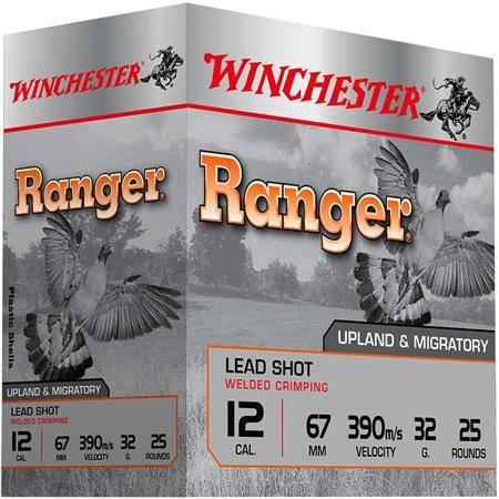 Cartouche De Chasse Winchester Ranger Generation 2 - 32G - Calibre 12/67