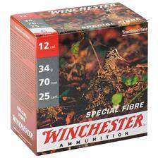 Cartouche de chasse winchester special fibre - 34g - calibre 12/70