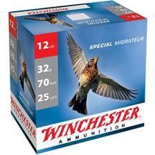 Cartouche de chasse winchester special migrateur - 32g - calibre 12/70