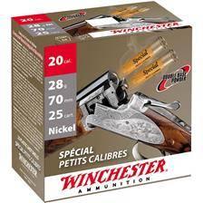 Cartouche de chasse winchester special petit calibre - 28g - calibre 20/70