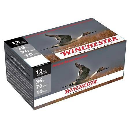 Cartouche De Chasse Winchester Steel Mg - 36G - Calibre 12