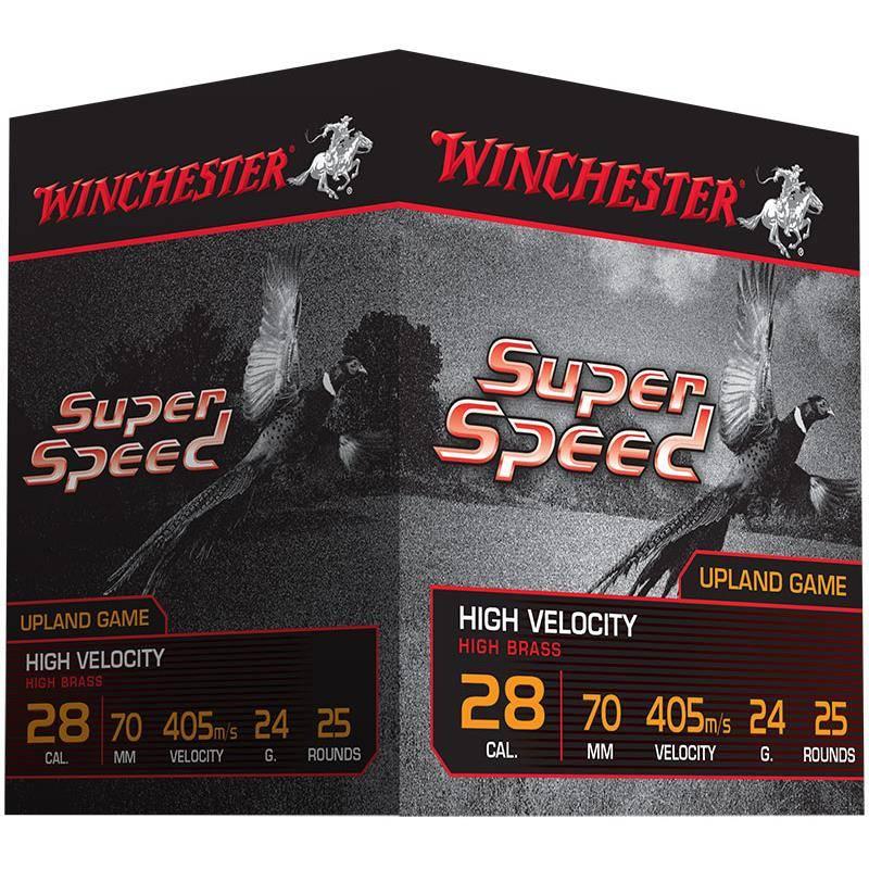 Cartouche De Chasse Winchester Super Speed Generation 2 - 24G - Calibre 28/70