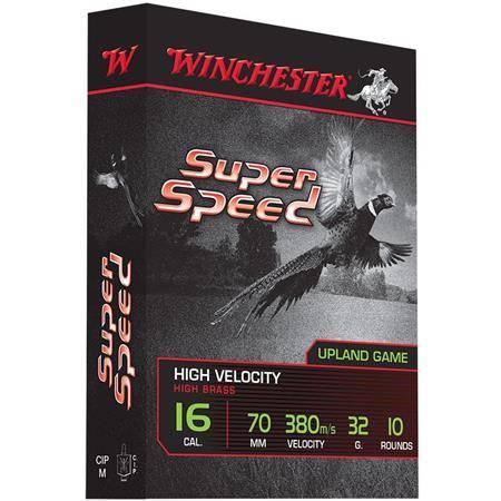 Cartouche De Chasse Winchester Super Speed Generation 2 - 32G - Calibre 16/70