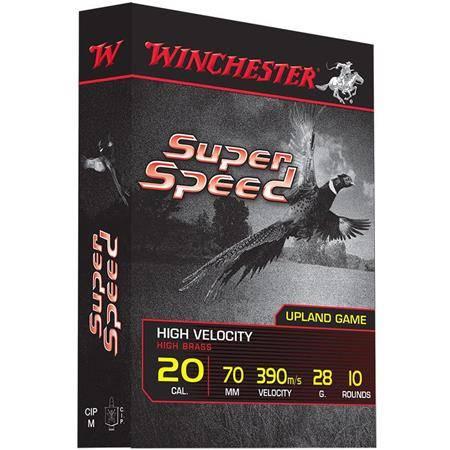 Cartouche De Chasse Winchester Super Speed Generation 2 - 32G - Calibre 20/70