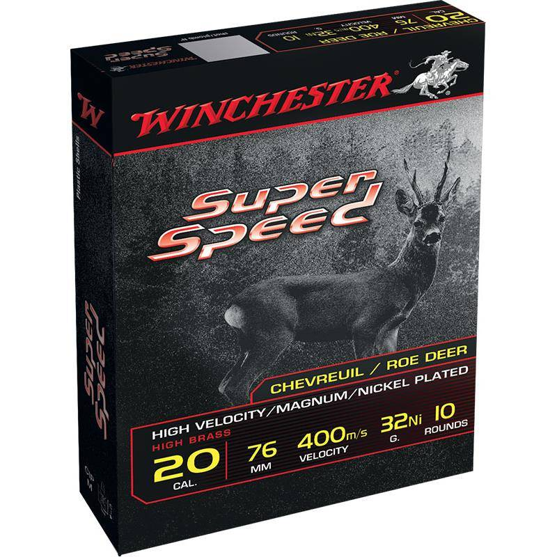 Cartouche De Chasse Winchester Super Speed Generation 2 - 32G - Calibre 20/76
