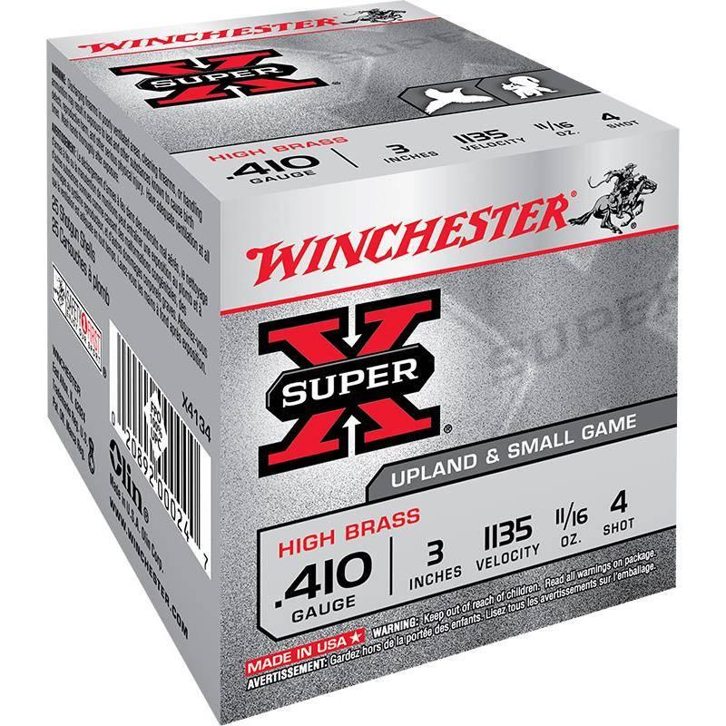CARTOUCHE DE CHASSE WINCHESTER SUPER-X - 19,5G - CALIBRE 410