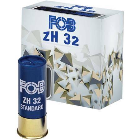 CARTOUCHE DE FUSIL FOB ACIER ZH 32 STANDARD - 32G - CALIBRE 12