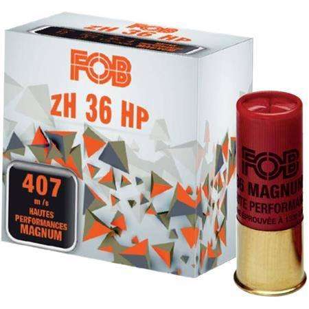 Cartouche De Fusil Fob Acier Zh 36 Magnum - 36G - Calibre 12