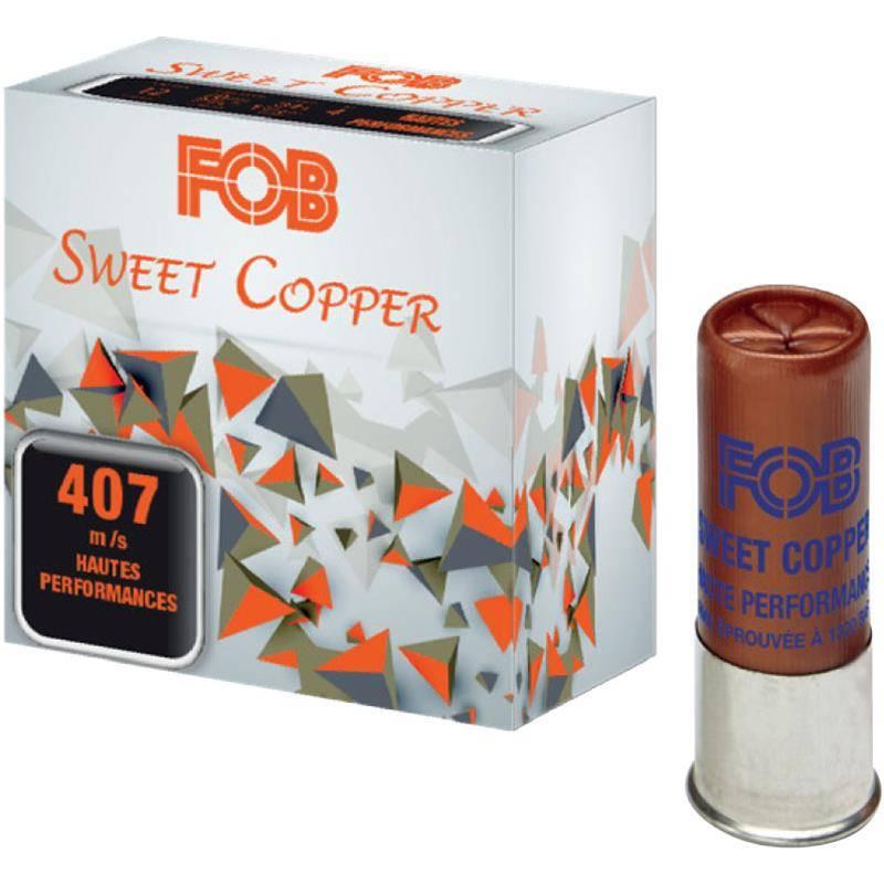 Cartouche De Fusil Fob Sweet Cooper 34 Hp - 34G - Calibre 12