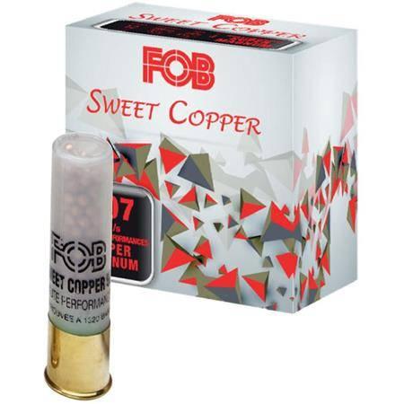 CARTOUCHE DE FUSIL FOB SWEET COOPER HP SUPER MAGNUM - 50G - CALIBRE 12