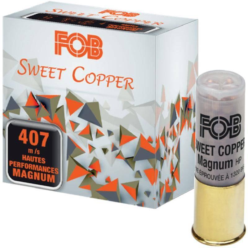 Cartouche De Fusil Fob Sweet Cooper Magnum 40 Hp - 40G - Calibre 12