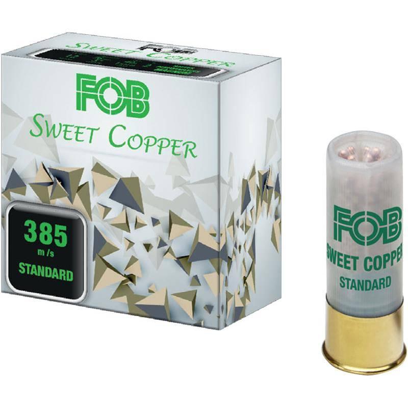 CARTOUCHE DE FUSIL FOB SWEET COOPER STANDARD - 30G - CALIBRE 12