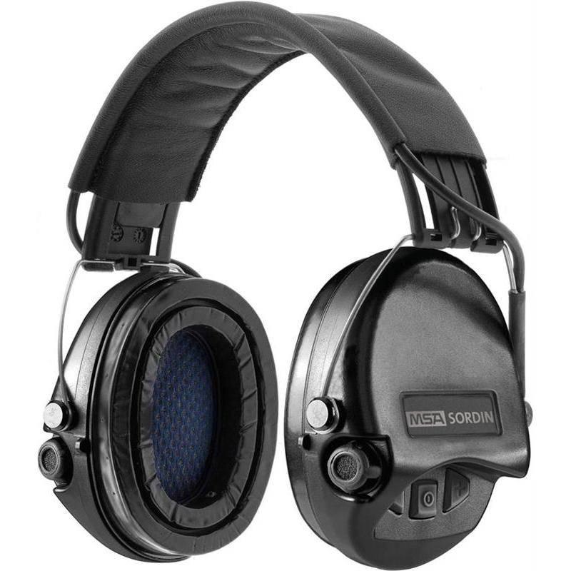 Casque Amplificateur Msa Supreme Pro - Noir