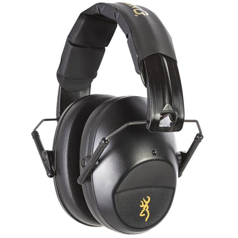 Casque Anti Bruit Browning Compact - Noir