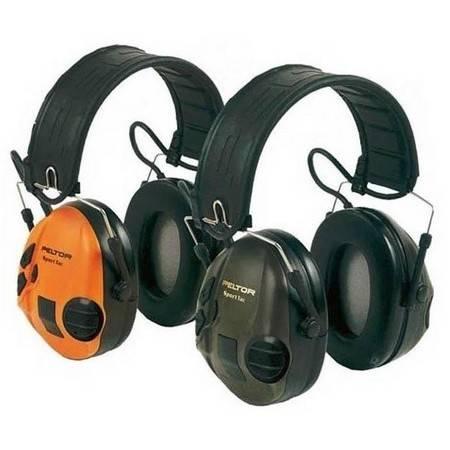 Casque Anti Bruit Electronique Peltor Sporttac Orange