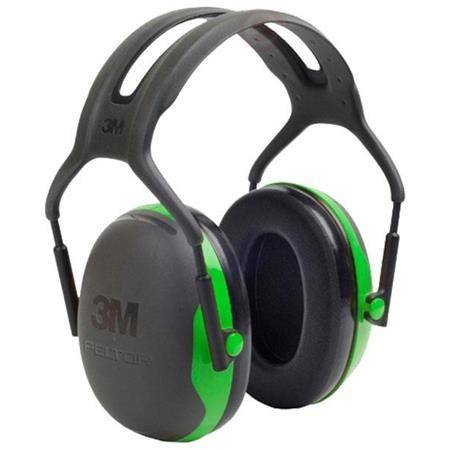 Casque Anti Bruit Peltor 3M X1 - Noir/Vert