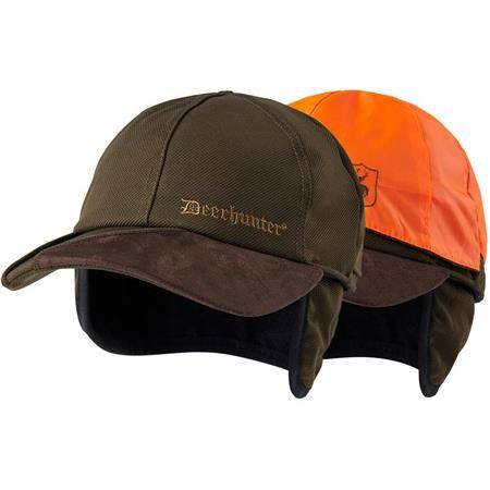 CASQUETTE DEERHUNTER MUFLON REVERSIBLE - ART GREEN