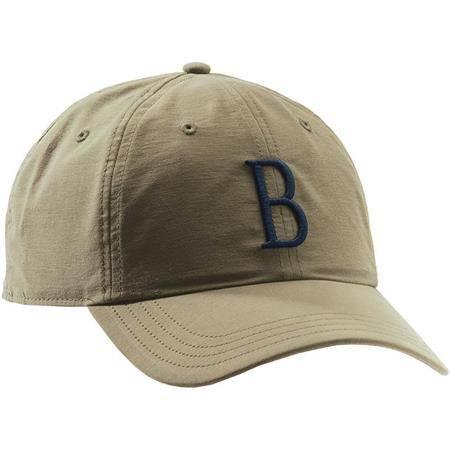 CASQUETTE HOMME BERETTA BIG B CAP - TAN