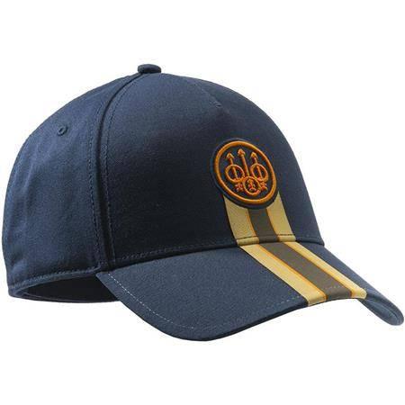 CASQUETTE HOMME BERETTA CORPORATE STRIPED CAP - BLEU
