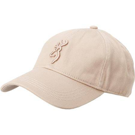 Casquette Homme Browning Coton - Beige