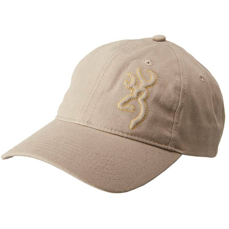 Casquette Homme Browning Embossed Buck - Gris