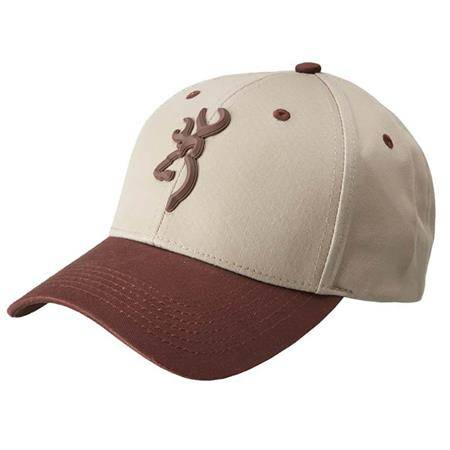 Casquette Homme Browning Molded Buck - Beige