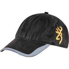 Casquette homme browning side buck - noir