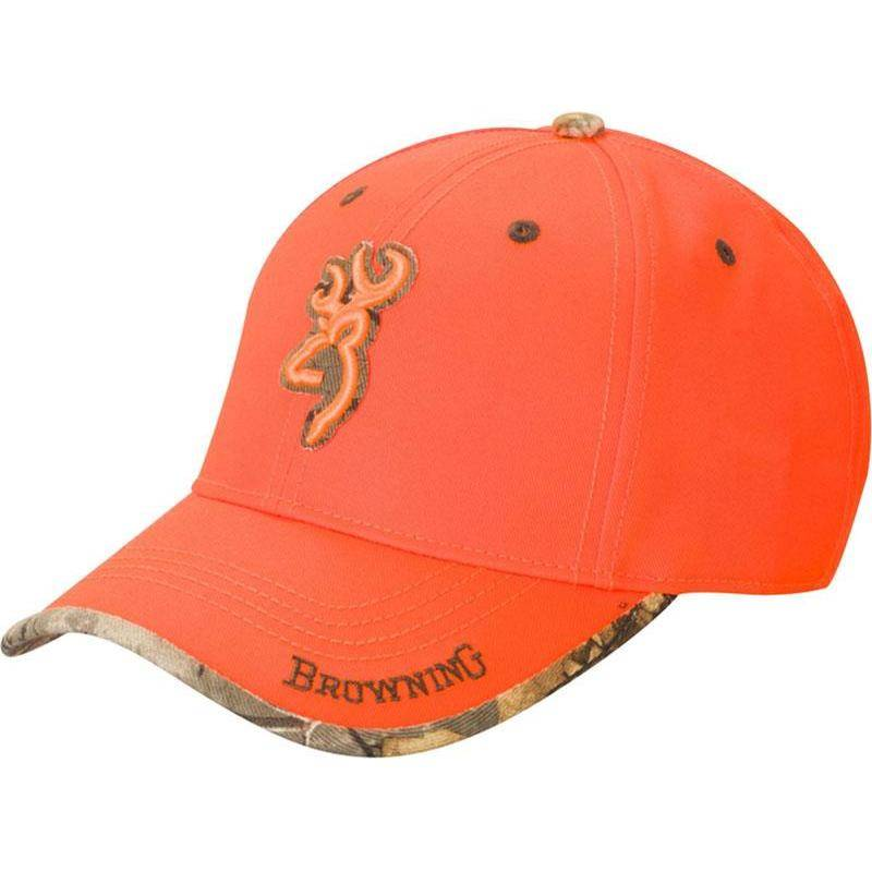 CASQUETTE HOMME BROWNING SURESHOT - ORANGE