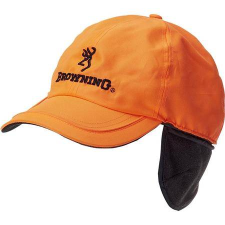 Casquette Homme Browning Winter Fleece - Orange