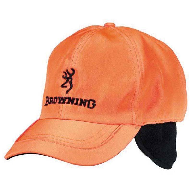 CASQUETTE HOMME BROWNING WINTER FLEECE - ORANGE