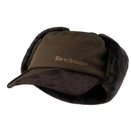 Casquette Homme Deerhunter Muflon Winter - Kaki