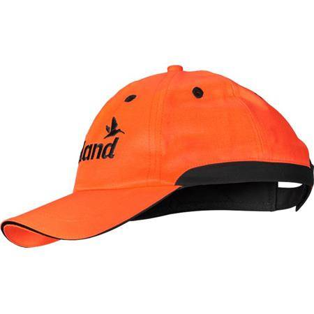 Casquette Homme Seeland Hi-Vis - Orange
