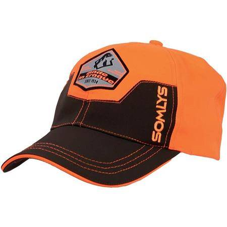 Casquette Homme Somlys 956 Made In Traque - Orange