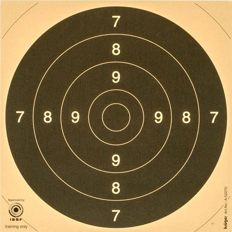 Centre De Cible Europ Arm C50 21X21