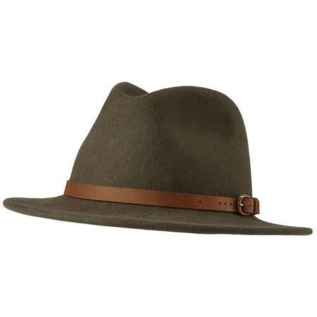 Chapeau Homme Deerhunter Adventurer Felt Hat - Kaki